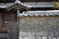 吉良川半切り石塀